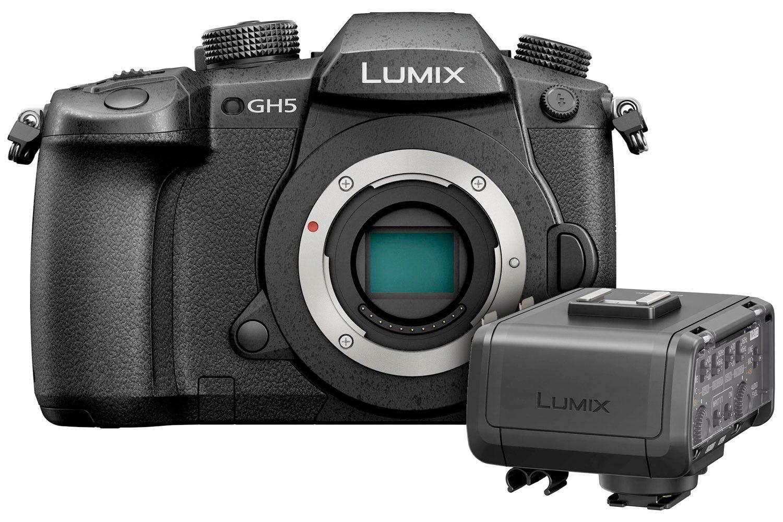 Buy   Panasonic Lumix GH5 Camera & XLR Microphone Adapter